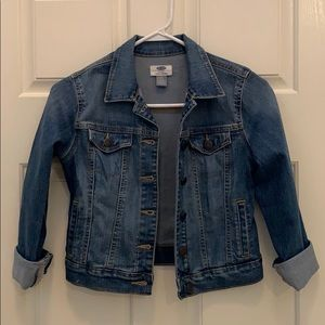 Old Navy girls jean jacket, CLASSIC must have!